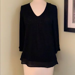 NWT V-neck long sleeve shirt